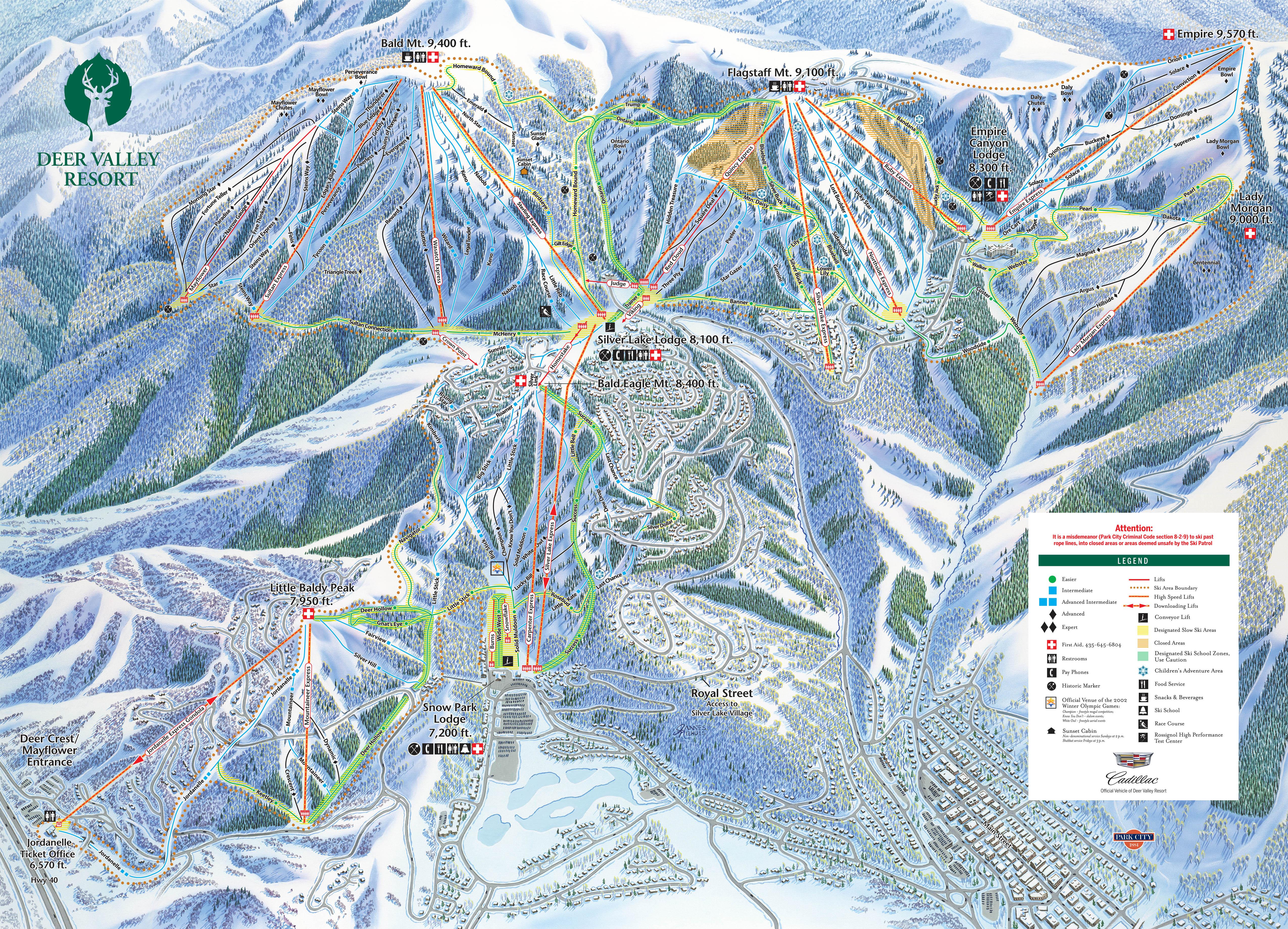 Solitude Utah Map.Solitude Deer Valley